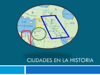Ciudades en la Historia