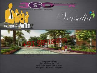 Ansal Versalia!!!!!!!!9891856789!!!!!Sector 67A Gurgaon