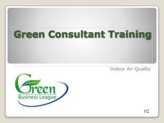 Green Consultant Training