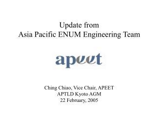 Past Activities in AP region
