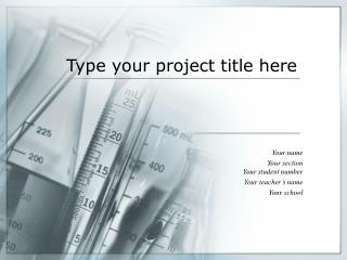 Type your project title here