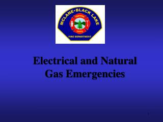 Electrical and Natural Gas Emergencies
