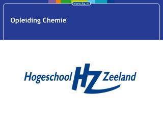 Opleiding Chemie