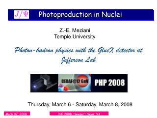 Photoproduction in Nuclei