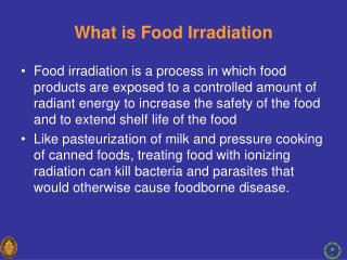 What is Food Irradiation