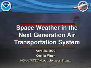 Space Weather in the Next Generation Air Transportation System