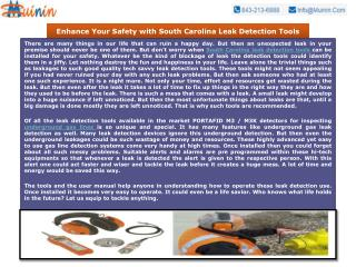 Enhance Your Safety with South Carolina Leak Detection Tools