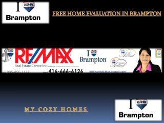 Free Home Evaluation in Brampton