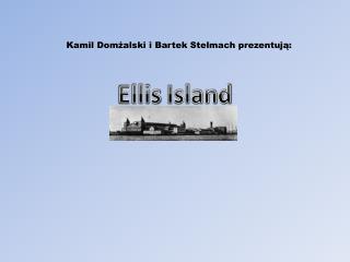 Kamil Domżalski i Bartek Stelmach prezentują: