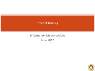 Project Koenig