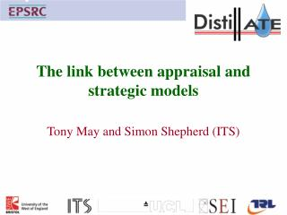 The link between appraisal and strategic models