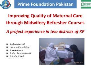 Prime Foundation Pakistan