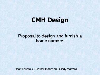 CMH Design