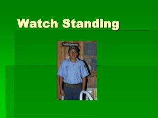 Watch Standing