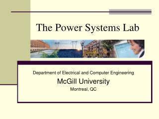 The Power Systems Lab