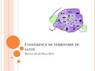 Conférence de territoire de santé