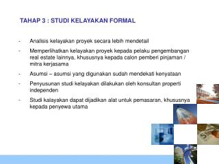 TAHAP 3 : STUDI KELAYAKAN FORMAL
