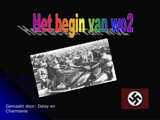 Het begin van wo2