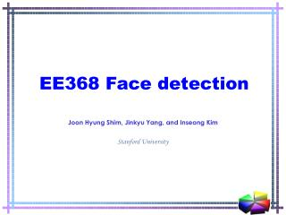 EE368  Face detection