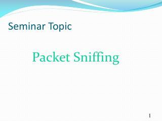 Seminar Topic