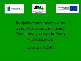 raport za rok 2010.