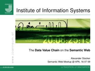 Institute of Information Systems