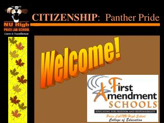 CITIZENSHIP :  Panther Pride