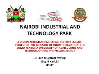 NAIROBI INDUSTRIAL AND TECHNOLOGY PARK