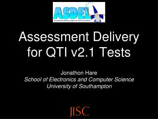 Assessment Delivery for QTI v2.1 Tests