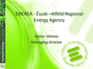 ENEREA - Észak –Alföld  Regional Energy Agency