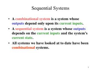 Sequential Systems