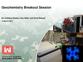 Geochemistry Breakout Session