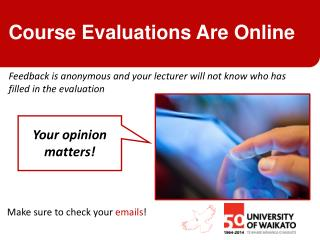 Course  Evaluations Are Online