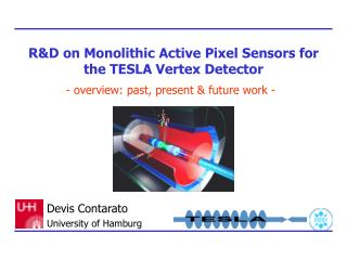 R&D on Monolithic Active Pixel Sensors for the TESLA Vertex Detector