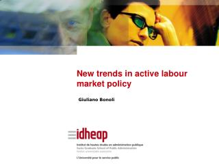 New trends in active labour market policy
