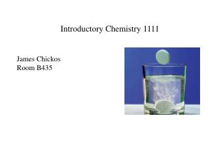 Introductory Chemistry 1111