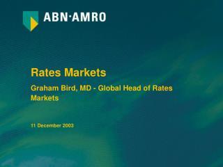 Rates Markets
