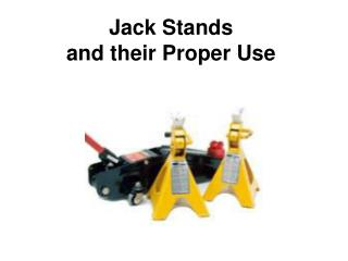 Jack Stands and their Proper Use