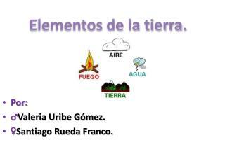 Por: ♂ Valeria Uribe Gómez. ♀ Santiago Rueda Franco.