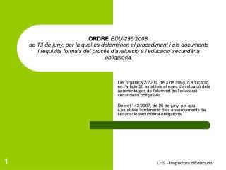 Article 6.  Currículum