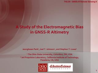 A Study of the Electromagnetic Bias in GNSS-R Altimetry