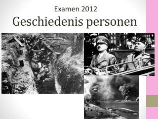 Geschiedenis  personen