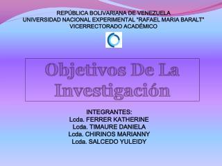"""REPÚBLICA BOLIVARIANA DE VENEZUELA UNIVERSIDAD NACIONAL EXPERIMENTAL """"RAFAEL MARIA BARALT"""""""