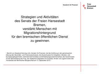 Freie Hansestadt Bremen
