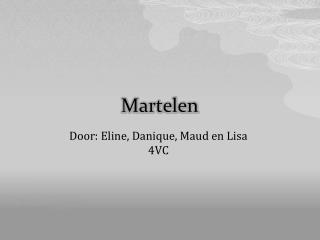 Martelen