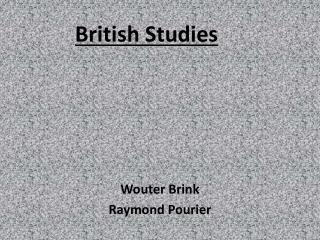 British Studies