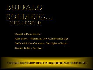 BUFFALO SOLDIERS…
