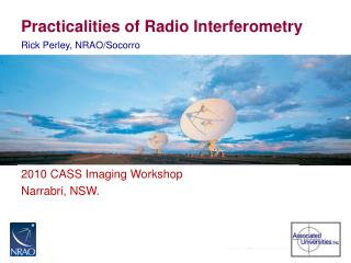 Practicalities of Radio Interferometry