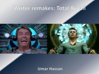 Poster remakes: Total Recall