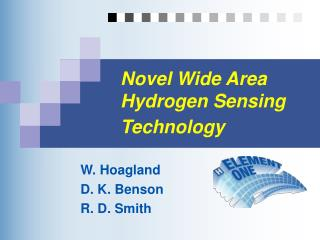 Novel Wide Area Hydrogen Sensing Technology